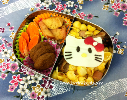 Hello Kitty Mac and Cheese