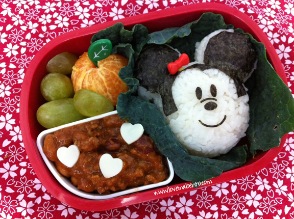 Mickey Mouse Bento | loveinabento